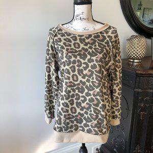 Animal Print Sweatshirt M
